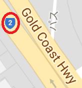 国道2号(ゴールドコーストハイウエイ)