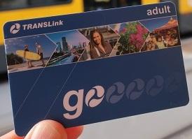 実際のGo Cardの写真