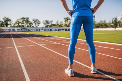 トレーニング走を行うランナー