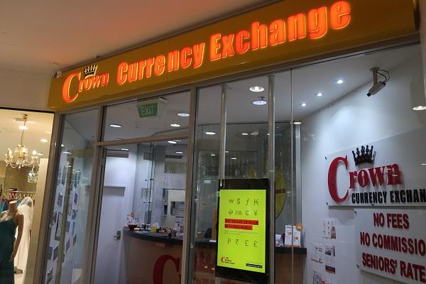 Crown Currency Exchangeの写真